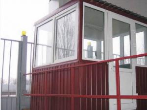 Металлические будки для охраны