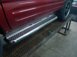 Изготовление порогов для автомобилей